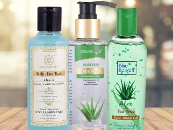 10 Best Aloe Vera Face Washes for all Skin Types - 2021