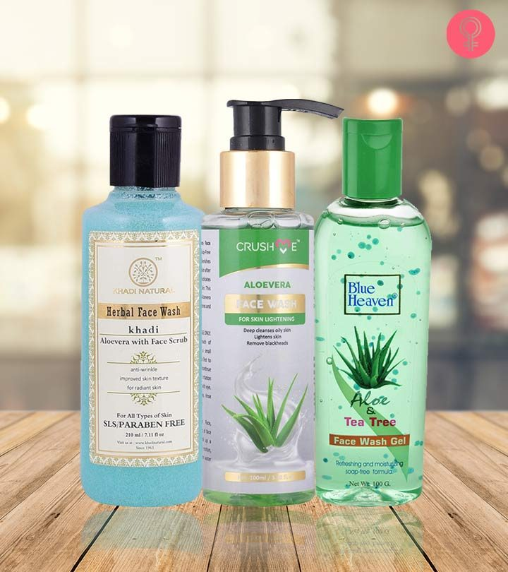 10 Best Aloe Vera Face Washes for all Skin Types – 2021