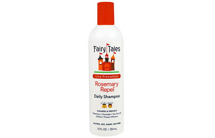 10. Fairy Tales Lice Prevention Rosemary Repel Daily Shampoo