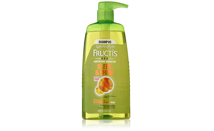 10. Garnier Fructis Sleek & Shine Shampoo