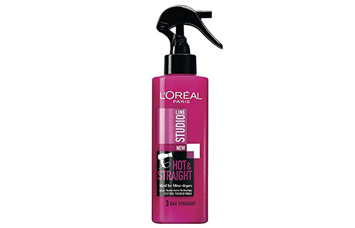 10. L'oreal Studio Line Hot & Straight Hair Spray