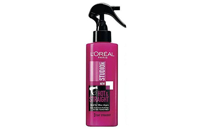 10. L'oreal Studio Line Hot & Straight Hair Spray
