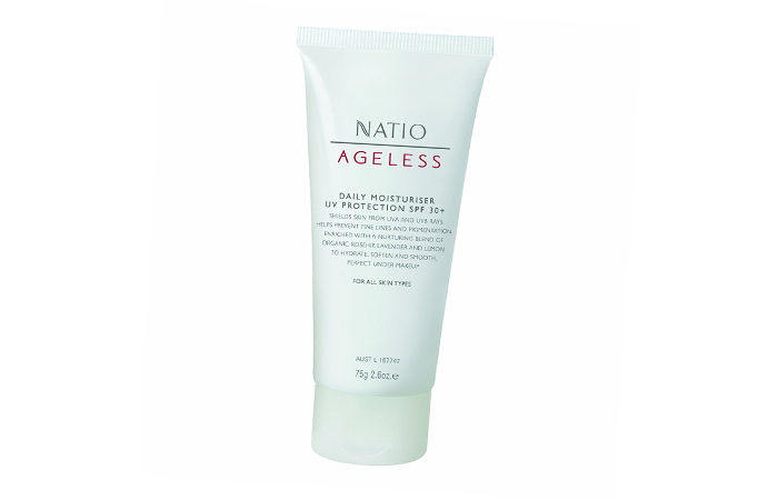 Pigmentation Creams - Natio Ageless Daily Moisturiser UV Protection SPF 30+