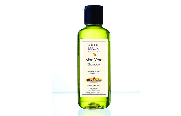 11. Khadi Mauri Herbal Aloe Vera Shampoo