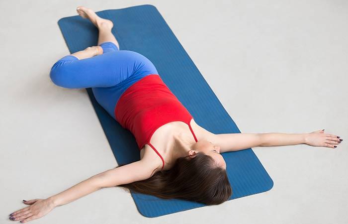 Supta Matsyendrasana - Yoga Poses For Beginners