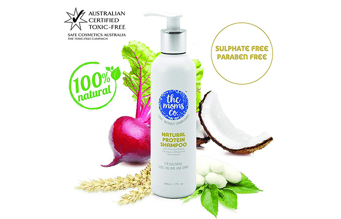 13. The Moms Co. Natural Protein Shampoo
