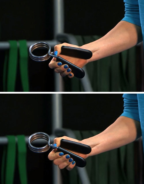 13. Wrist Grip Strengthening Exercise