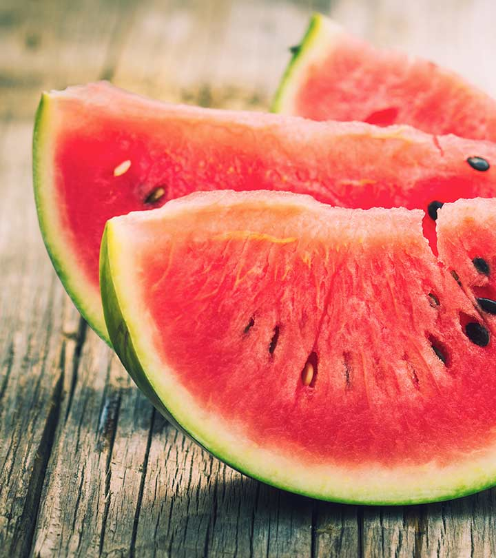21 Best Benefits Of Eating Watermelon For Skin, Hair, And Health