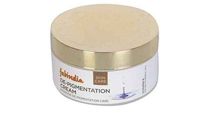 14. Fab India De-Pigmentation Cream