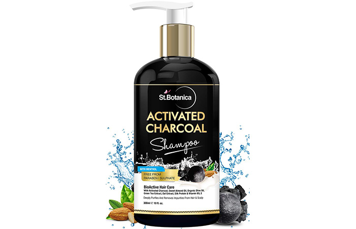 14. St. Botanica Activated Charcoal Hair Shampoo