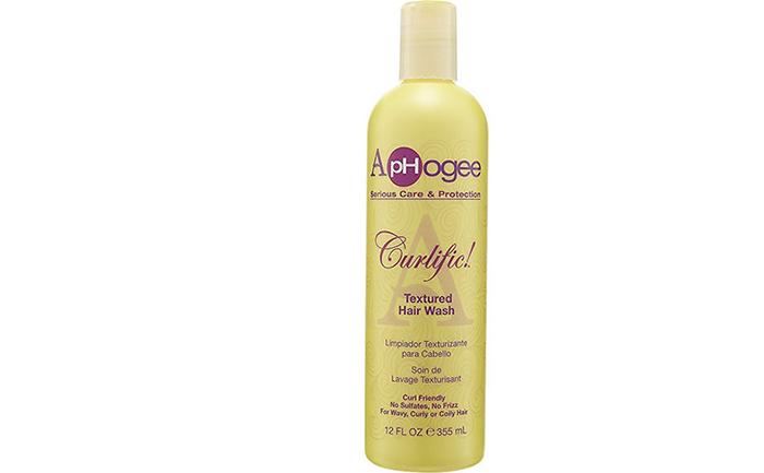 14. ApHogee Curlific Textured Hair Wash
