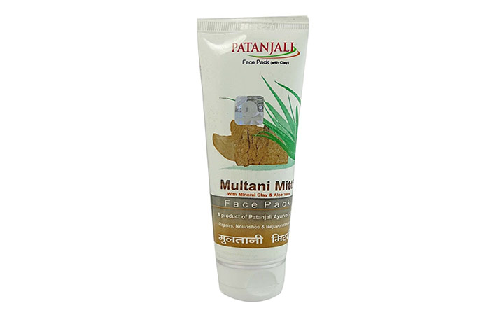 14. Patanjali Multani Mitti Face Pack