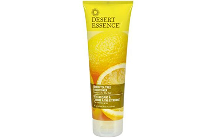 Conditioners For Oily Hair - Desert Essence Lemon Tea Conditioner