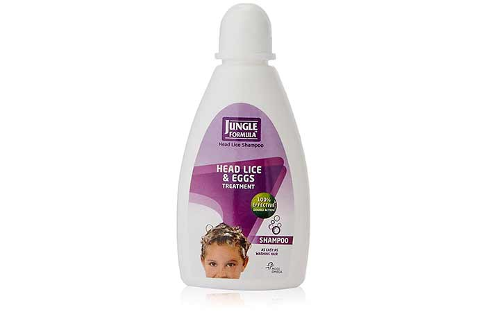 2. Jungle Formula Head Lice Shampoo