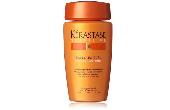 2. Kerastase Bain Oleo Curl Shampoo