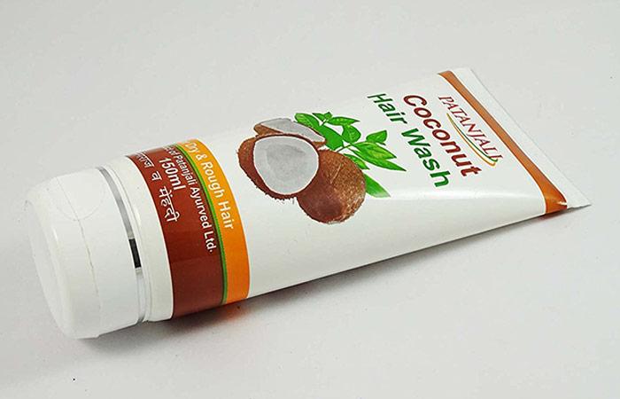 2. Patanjali Coconut Hair Wash