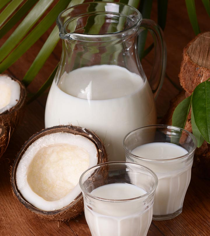 22 Significant Benefits Of Coconut Milk (Nariyal Ka Doodh) For Health, Skin, And Hair