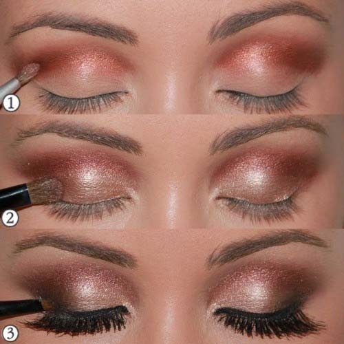 Sultry Copper-Rose Gold Eyes