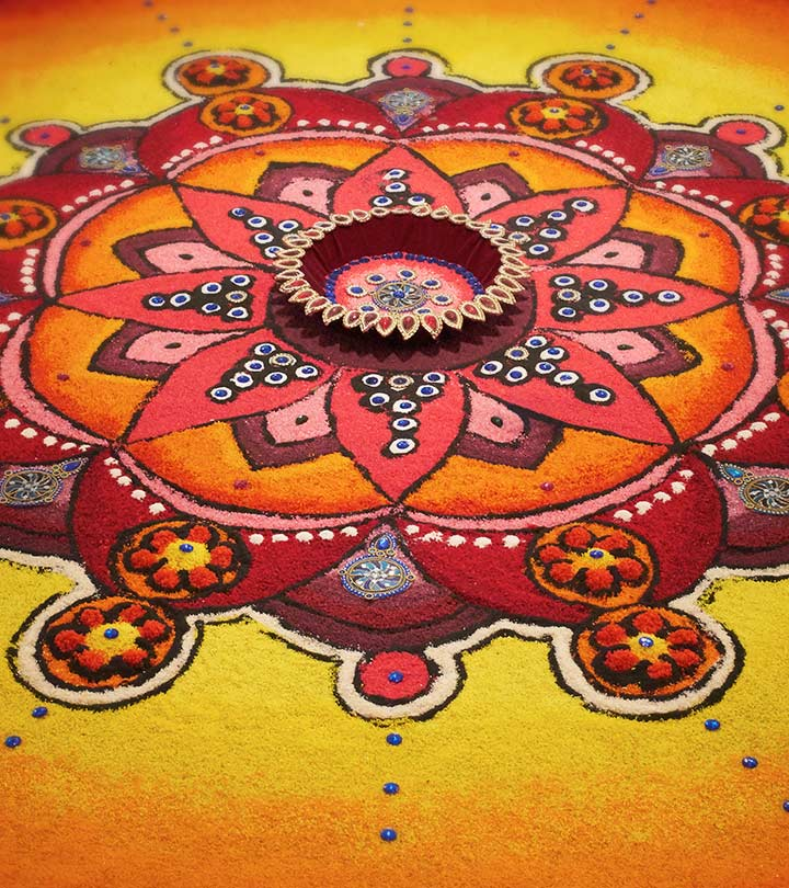 10 Best Sanskar Bharti Rangoli Designs To Try In 2019