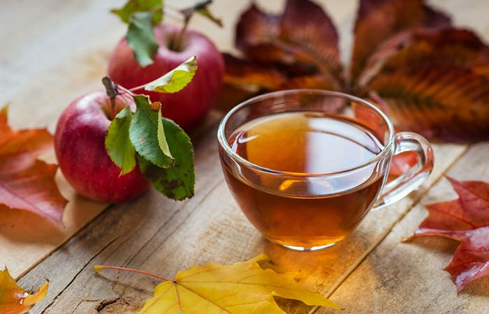 3. Apple Cider Vinegar And Green Tea