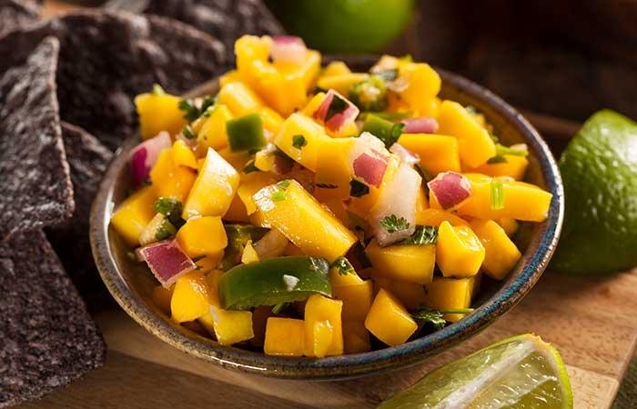 Citrus Fruits - Citrus Mango Salsa