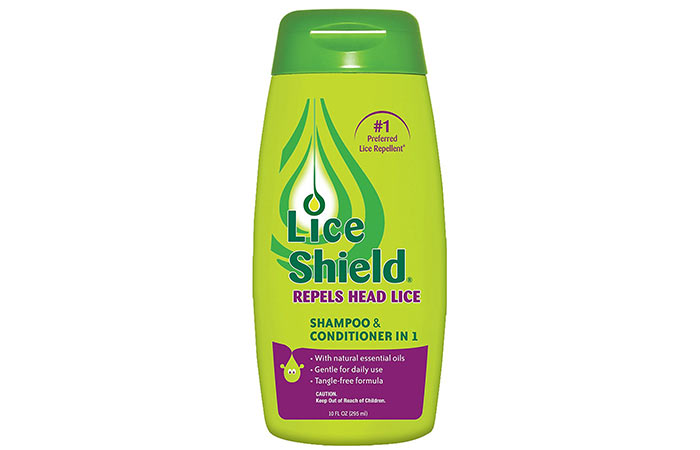 3. Lice Shield Shampoo And Conditioner In 1