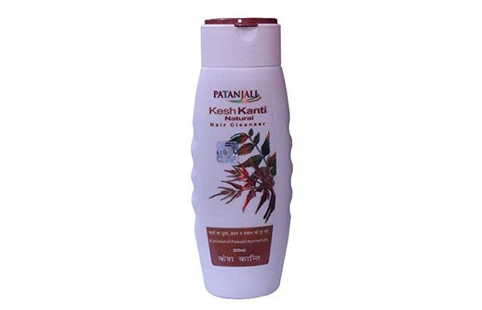 3. Patanjali Kesh Kanti Natural Shampoo