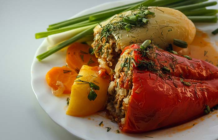 Benefits of Potatoes - Stuffed Peppers And Potatoes