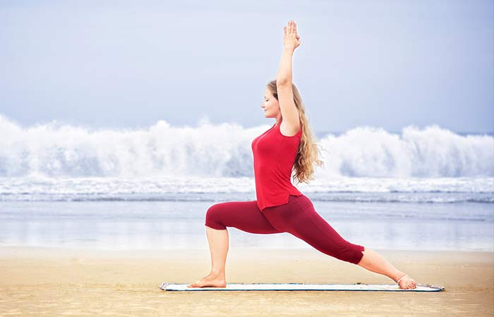 Virabhadrasana-I - Yoga Poses For Beginners