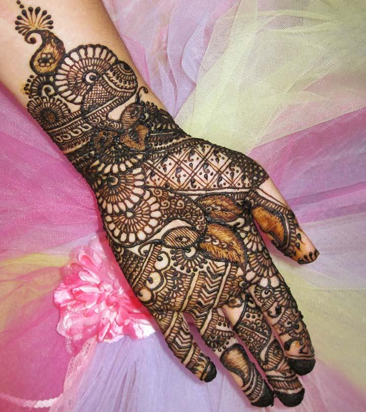 best bridal mehandi design