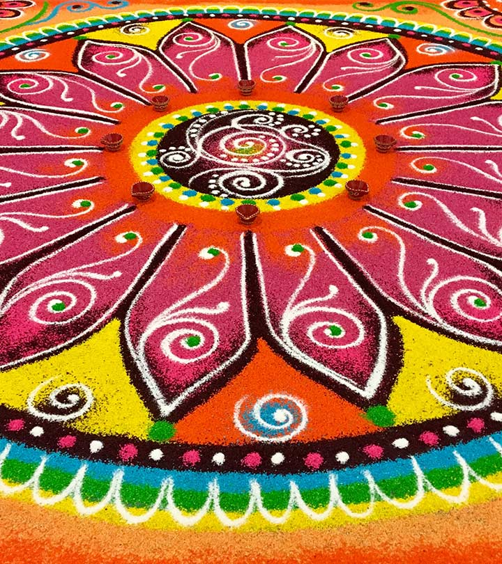 10 Great Indian Rangoli Designs That You Should Try In 2019