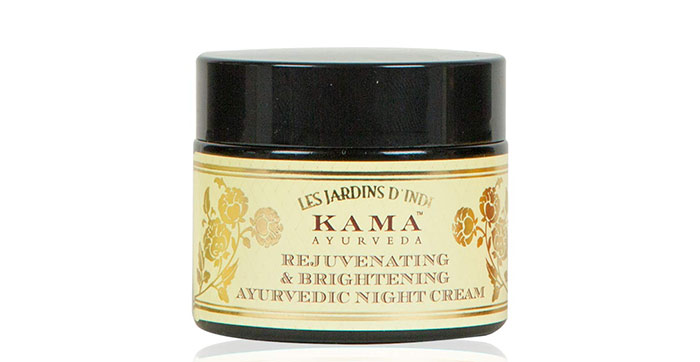 4. Kama Ayurveda Rejuvenating And Brightening Ayurvedic Night Cream