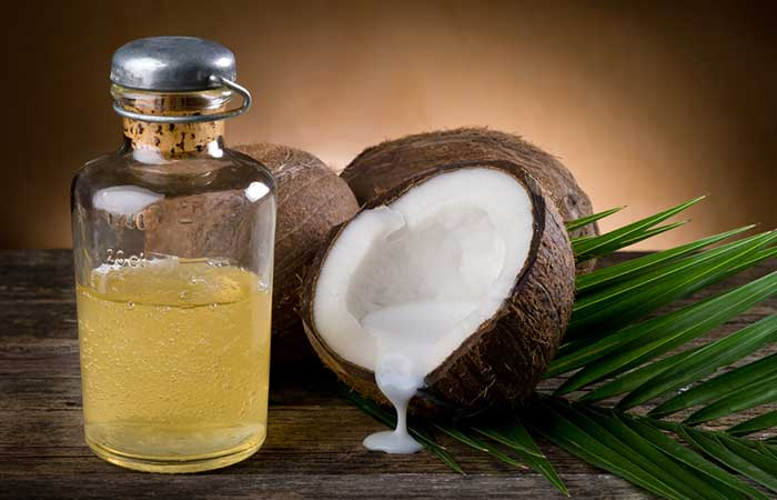 4. Coconut Oil For Waxing Bumps