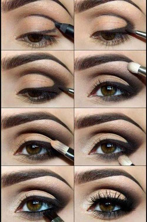 Defined-Crease Smokey Eye Makeup Tutorial