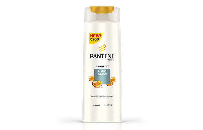 4. Pantene Pro-V Lively Clean Shampoo