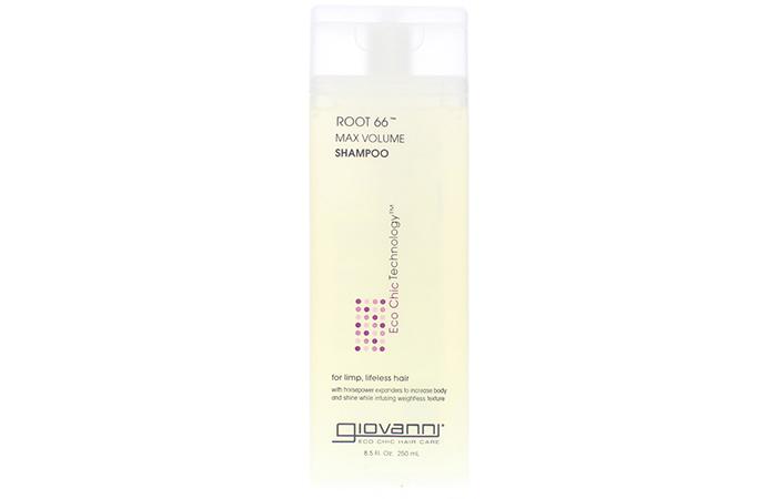 5. Giovanni Root 66 Max Volume Shampoo