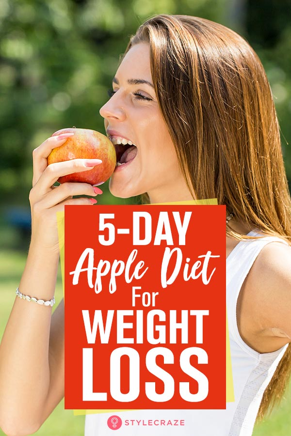Apple day mono diet