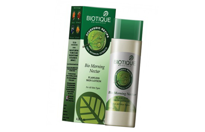 5. Biotique Bio Morning Nectar Lotion