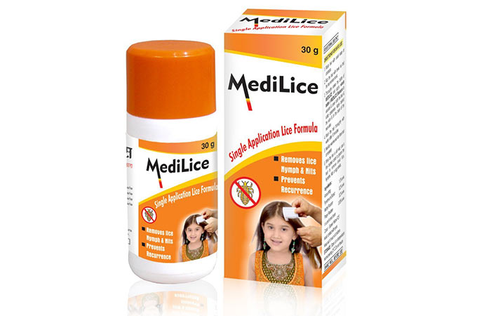 5. Medilice Single Application Lice Formula