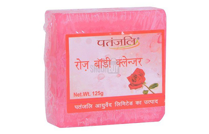 5. Patanjali Rose Body Cleanser