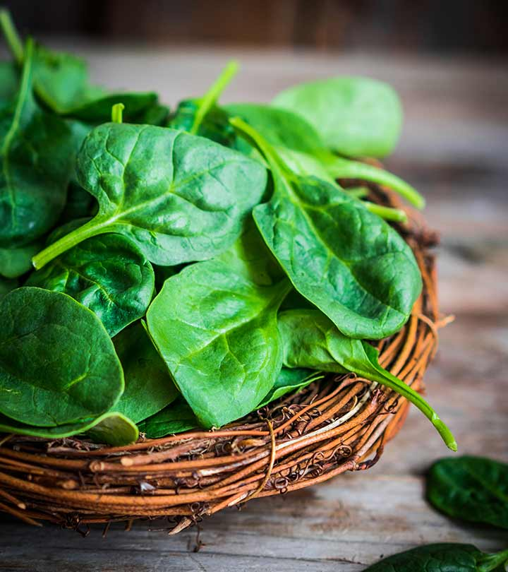 564_21 Amazing Benefits Of Spinach (Palak) For Skin And Health_iStock-492492960