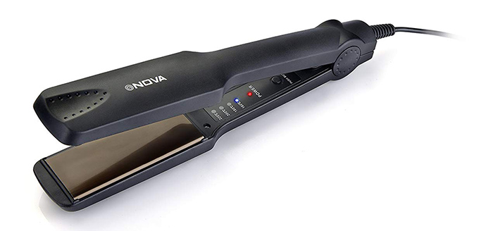 6. Nova NHS 860 Temperature Control Professional Hair Straightener