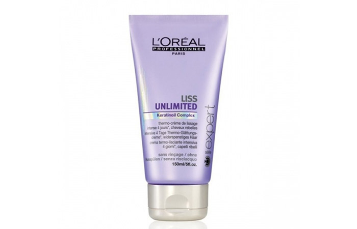 6. L'Oreal Professionnel Liss Unlimited Thermo Cream
