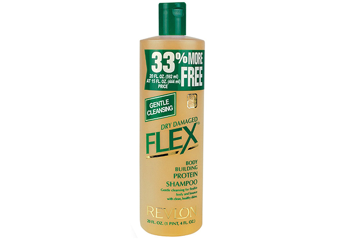 6. Revlon Flex Gentle Cleansing Body Building Protein Shampoo