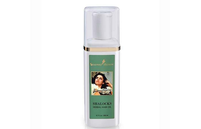 6. Shahnaz Husain Shalocks Herbal Hair Oil