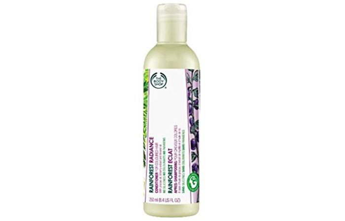 Conditioners For Oily Hair - The Body Shop Rainforest Radiance Conditioner