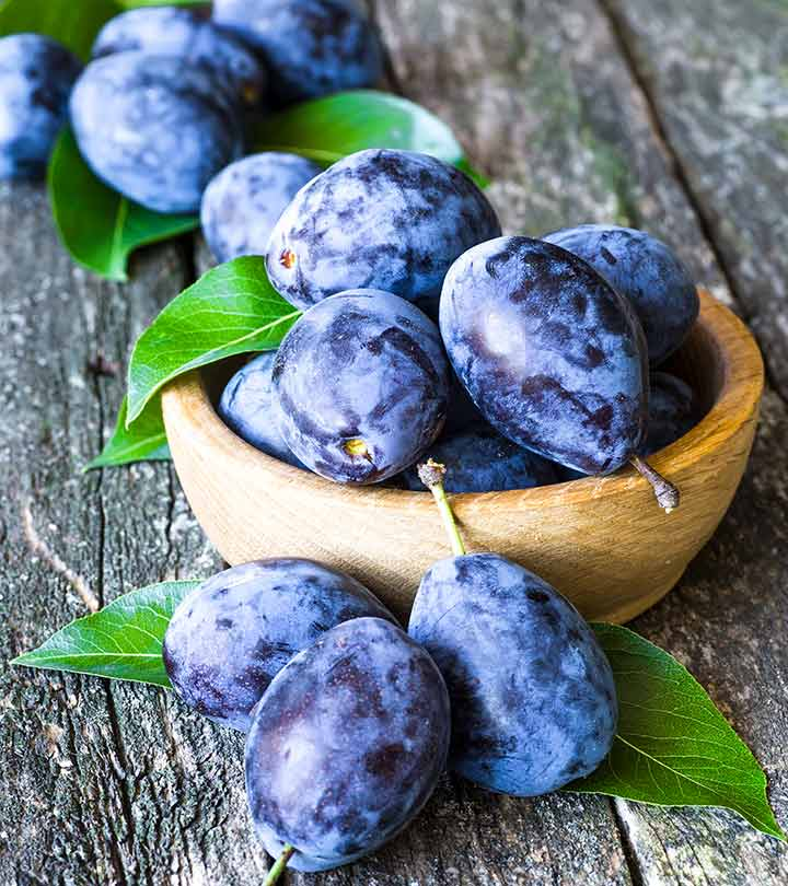 7 Health Benefits Of Plums: For Constipation, Diabetes, And More
