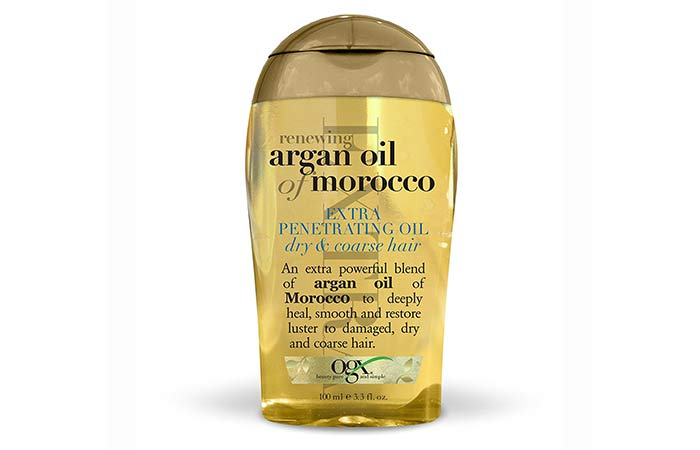 7. Organix Renewing Argan Oil Of Morocco Extra Penetrating Oil