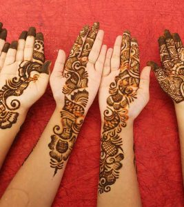 10 Best And Simple Mehandi Designs For Kids : 2017-2018 Special Collection