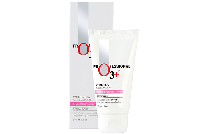 8. O3+ Professional Whitening Face Emulsion